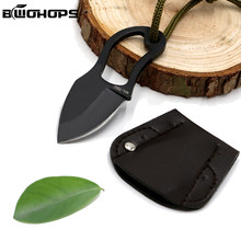 Survival Tactische Mes Outdoor Folding Blade Multi Jacht Verdediging Markering Jungle Klauw Hals Machet Stiletto Draagbare Zakmes(China)