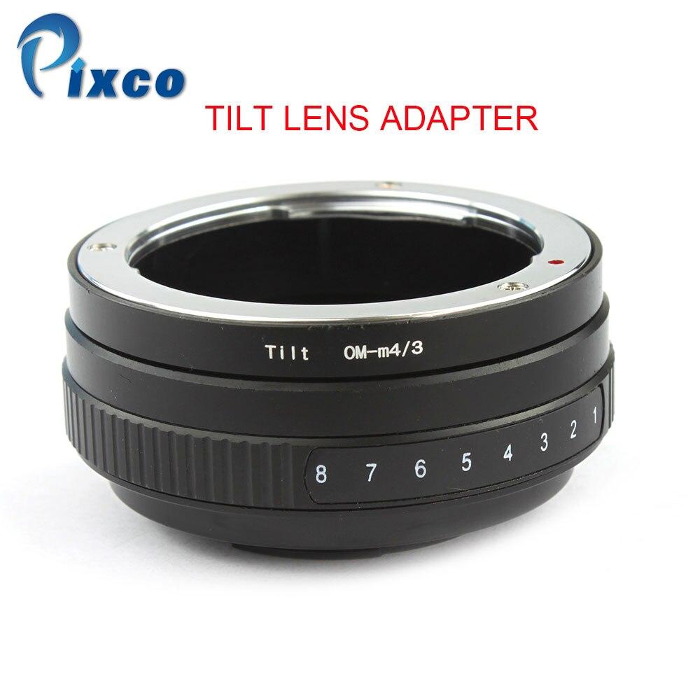 Pixco For OM M4 3 Tilt Lens Adapter Suit For Olympus OM Lens to Micro Four