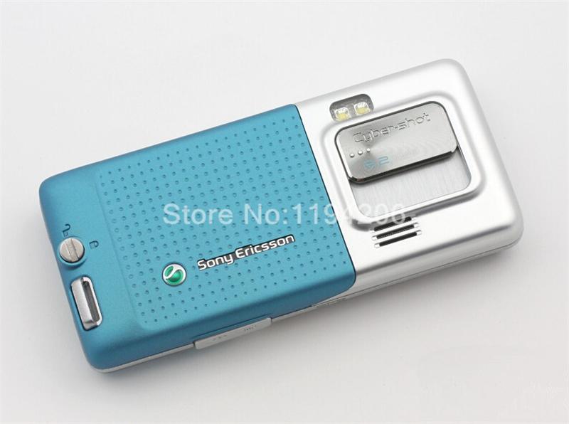 Refurbished phone SONY Ericsson C702 unlocked Smartphone GPS 3G 3.15MP bluetooth mp3 player blue 3