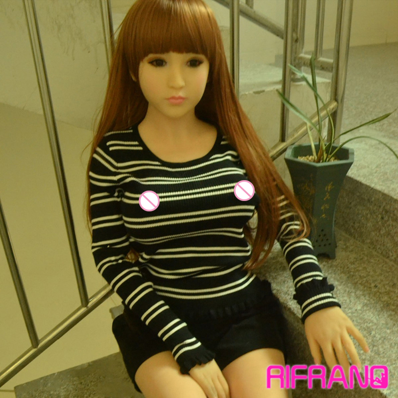 Rifrano Lifelike male 148cm full silicone font b sex b font love font b doll b