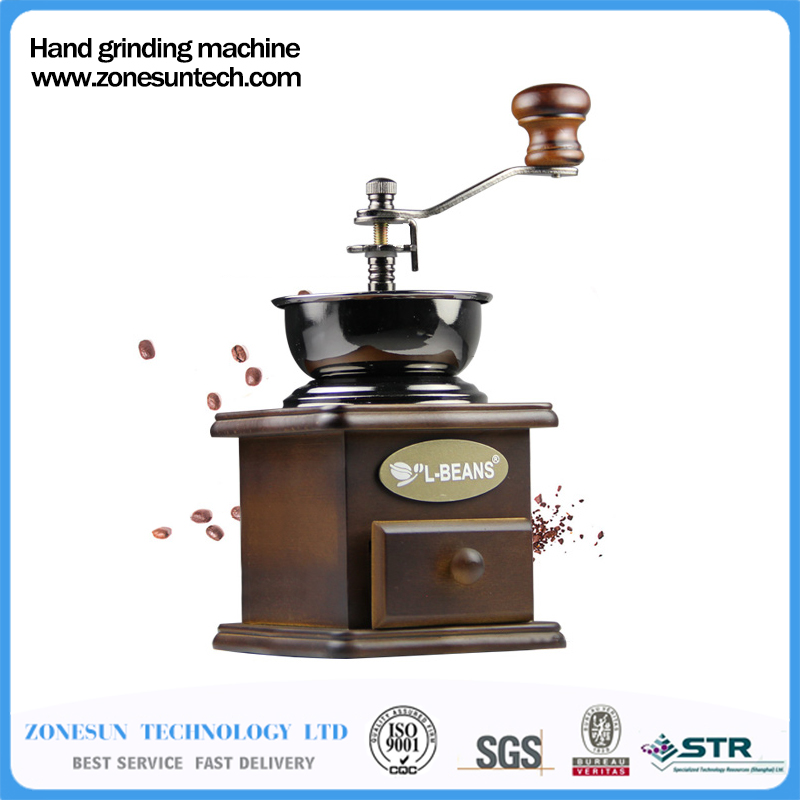 Classical-Wooden-Mini-Coffee-Grinder-Manual-Stainless-Steel-Retro-Coffee-Spice-Mill-With-High-quality-Porcelain