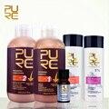 PURC бразильский кератин выпрямления волос лечение 5% кератин формалина и волос шампунь и кондиционер для волос для выпадения волос