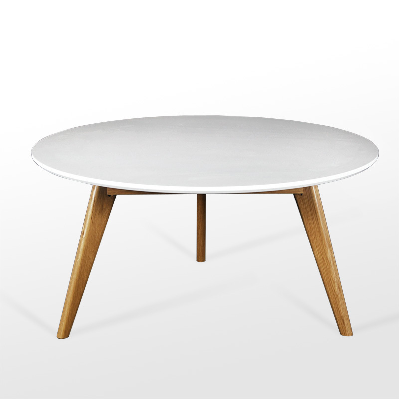 Good Wood Coffee Table Scandinavian Minimalist Small