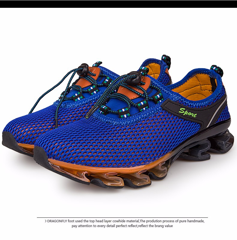 Super Cool breathable running shoes men sneakers bounce summer outdoor sport shoes Professional Training shoes plus size 27