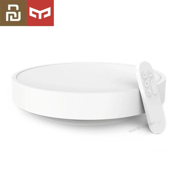 (Du russe) Xiaomi Yeelight LED plafonnier 5 minutes confortable clair de lune IP60 anti poussière travail avec MIJIA WI FI Enab LED|Télécommande connectée| |  -