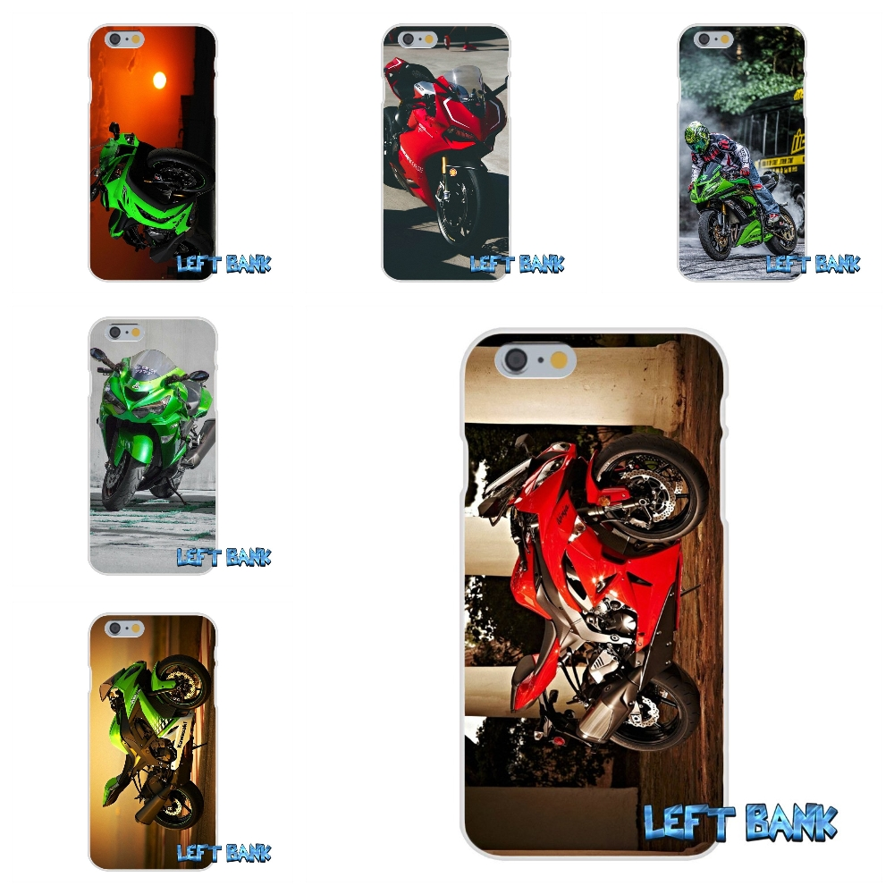 kawasaki ninja zx r sport motorcycle Soft Silicone TPU Transparent Cover Case For iPhone 4 4S 5 5S 5C SE 6 6S 7 Plus
