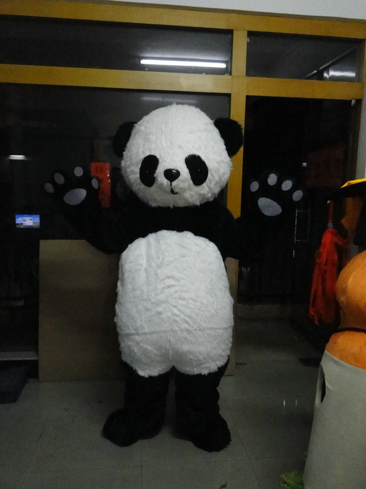 BING RUI CO Panda mascot costume for Panda Mascot Costume Cartoon - Costumes