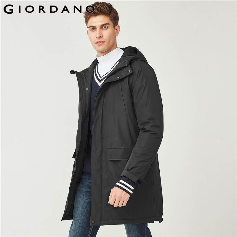 TIGER FORCE 2018 Winter Jacket Men Polyester Coat Bio based Cotton Padded Coat Fashion Causal Jacket