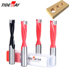 цена на Tideway 4mm-17mm Wood Forstner Drill Bits Length 70mm Router Bit Row Drilling For Boring Machine Drills Wood Carbide Endmill