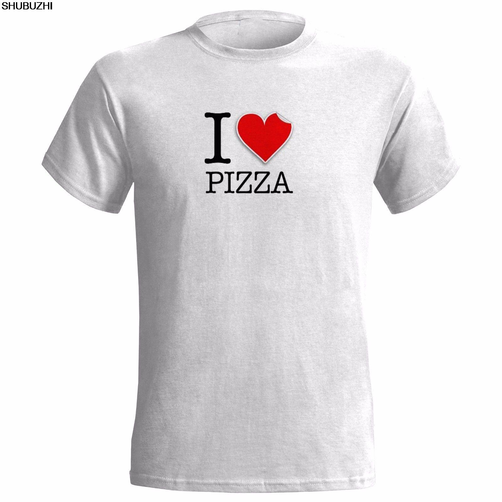 2941e8065 I LOVE PIZZA LOGO MENS T SHIRT FOOD EAT ITALIAN TAKEAWAY GIFT PRESENT TAKE  AWAY tshirt