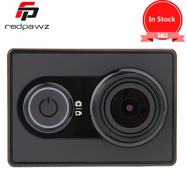 In Stock !  Original Xiaomi Yi Action  Z23L international Version Sports Camera WiFi BT4.0 16MP 1080p HD 155 Degree Lens