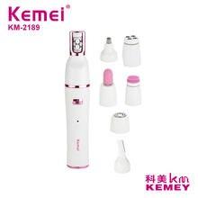 Kemei 7 в 1 Влажная сухая Женская бритва женский эпилятор бритвенный