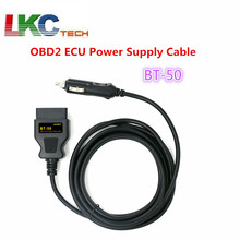 BT-50 OBD2 Vehicle ECU Emergency Power For 12V DC Power Source Supply Cable Memory Saver ECU Power Interface/Connector