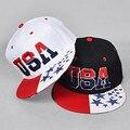 2016 Мода Козырьки Вс Hat Мужчины И Женщины Бейсбол Hat Регулируемый Snapback Cap США Хип-Хоп Случайные Шляпу BQM02