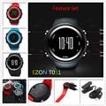 Muti-función Original Fresco EZON T031 Hombres Sincronización GPS Running Podómetro Contador de Calorías Reloj Deportivo 50 M Resistente Al Agua