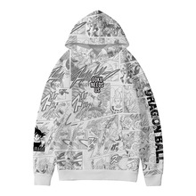 Goku Dragon Ball Manga Comic Styled Hoodie Sweater