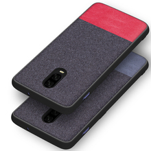 Coque For Oneplus 6 6t 5 5t Case Shockproof Original Silicone Cloth Case Cover For Oneplus6 Oneplus5 Case Fabric Back Cover
