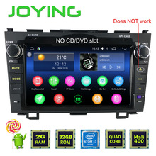 Joying Latest 2GB RAM Car Multimedia Android 5.1 Double 2Din Steering-wheel Stereo Radio For Honda CR-V GPS Navigation Head Unit