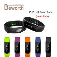ID101 HR Смарт монитор сердечного ритма браслет SmartBand браслет Pulse спортивные часы фитнес синхронизации для iOS смартфон Mi band 2