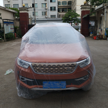 Car Waterproof and Dustproof Universal PE Cover Disposable Pastic