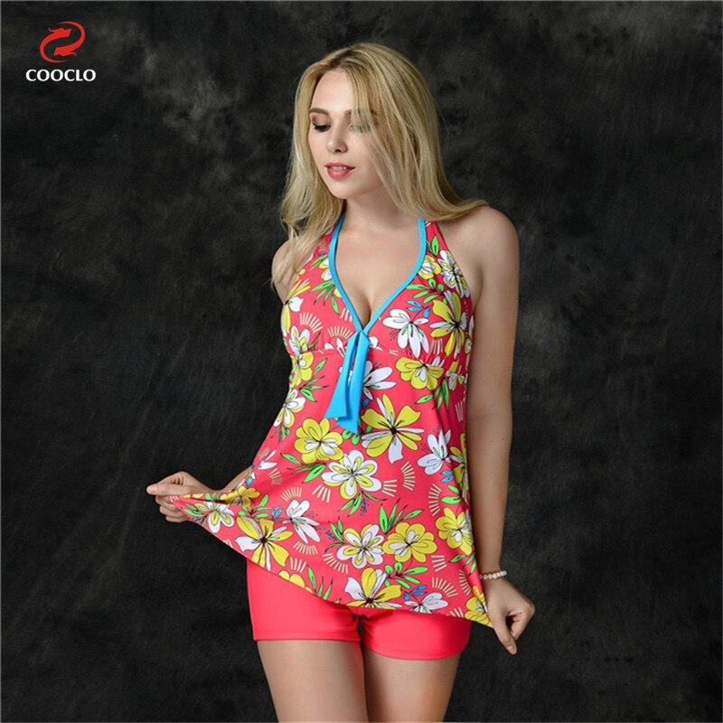 ФОТО 2016 high quality plus size women swimwear beachwear girls Swimsuit two Pieces Swimwear large cup Bathing Suit 4 colors halter