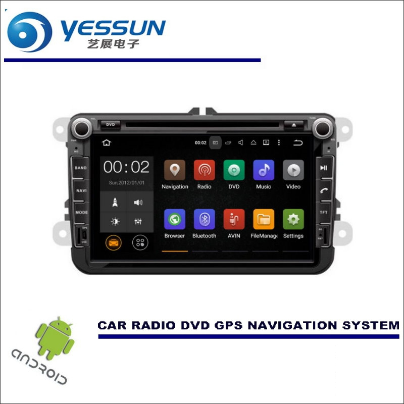 YESSUN Car Multimedia Navigation For Skoda Fabia MK2 / Fabia MG / Fabia 5J CD DVD GPS Player Navi Radio Stereo HD Screen Android car dvd gps android 8 1 player 2din radio universal wifi gps navigation audio for skoda octavia fabia rapid yeti superb vw seat