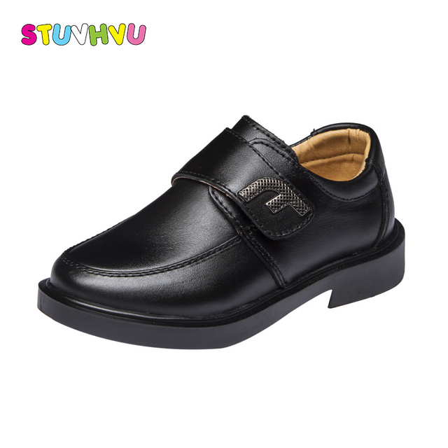 Childrens Genuine Leather School Students Shoes For Boys Dress