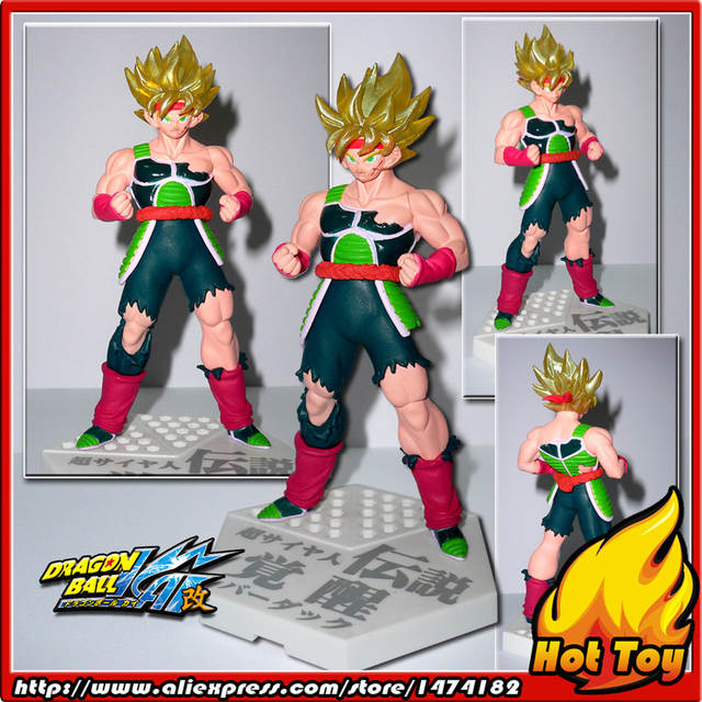 100% Original BANDAI Gashapon PVC Toy Figure HBG Part 1 - Bardock Super  Saiyan from Japan Anime