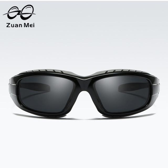 34ed0e7a82f Zuan Mei 2018 Men Rectangle Sunglasses Eyewear Black Mirror Lens Alloy  Frame Sun Glasses Travel Outdoor Eyeglasses MC5331
