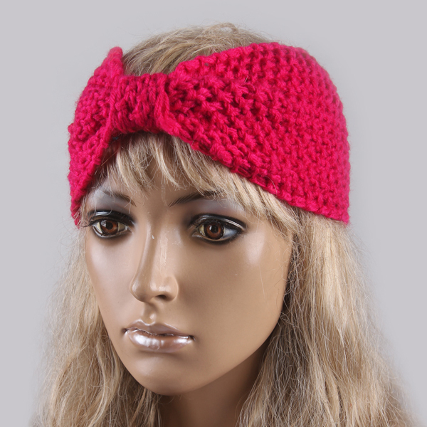 11COLORS Women Big Size Knitting Wool Headband Lady Crochet Winter Ear  Warmer Headwrap Hairband Factory PriceFD0009 0b7bba3e0bc