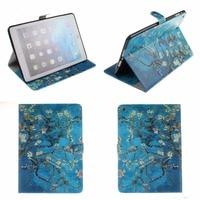 Van Gogh Flip PU Leather Case Cover For Apple IPad Air 2 IPad Mini 4 IPad