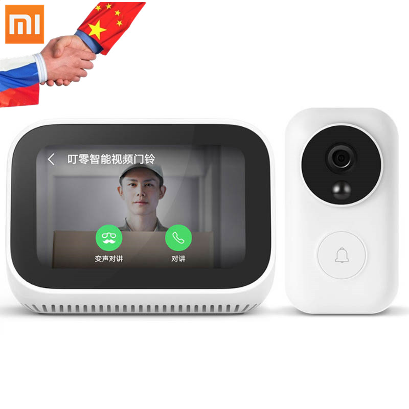 In Stock Xiaomi AI Face Touch Screen Bluetooth 5 0 Speaker Digital Display Alarm Clock WiFi