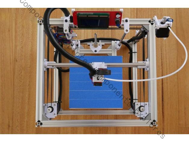 BOM For Hypercube 3D Printer
