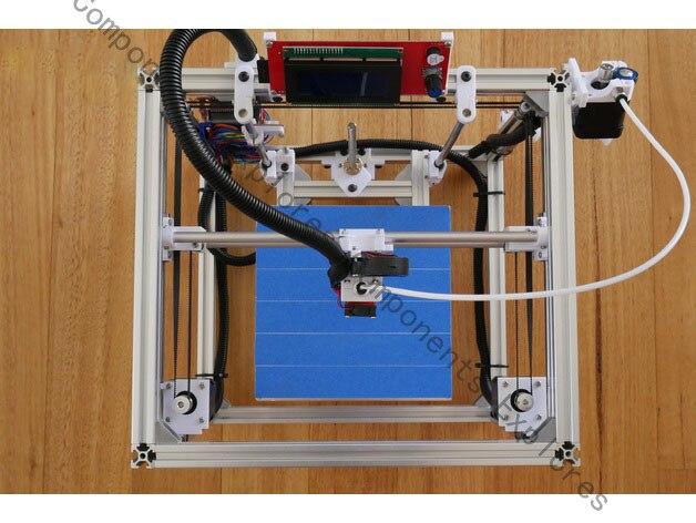 Nomenclature pour imprimante 3D HypercubeNomenclature pour imprimante 3D Hypercube