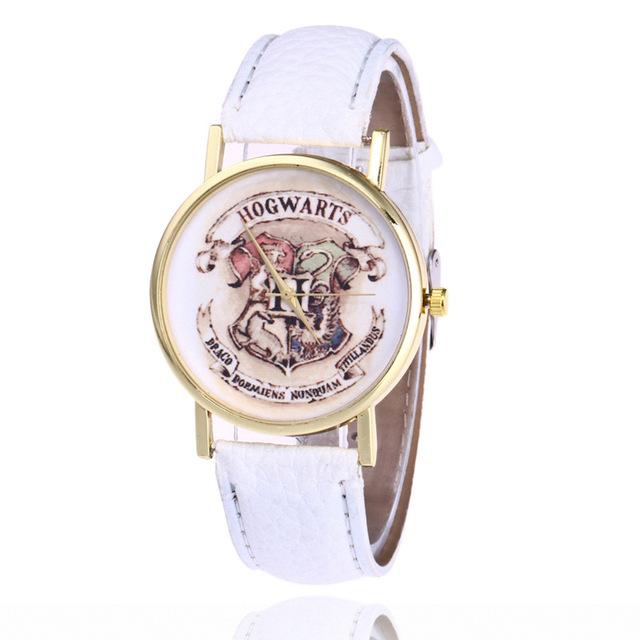 Harry Potter Magic School Watches For Women Men 2018 Fashion Casual Leather Quartz Watch Students Wristwatch Relogio Feminino