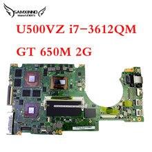 for ASUS U500V U500VZ laptop motherboard REV 2.0 mianboard processor i7-3612QM GT 650M 2G fully tested