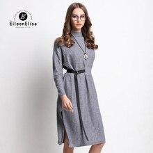 Famous Designers Women Dress EE Autumn Winter Runway Designer Womens Dress 2017 Sweater Dresses Fall