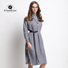 Famous Designers Women Dress EE Autumn Winter Runway Designer Womens Dress 2017 Sweater Dresses Fall