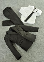 1/6 Scale Man Boy Clothing Male Clothes Set Suit Set With Pants Ties Model Fit For 12Collectible Doll Toys Accessories