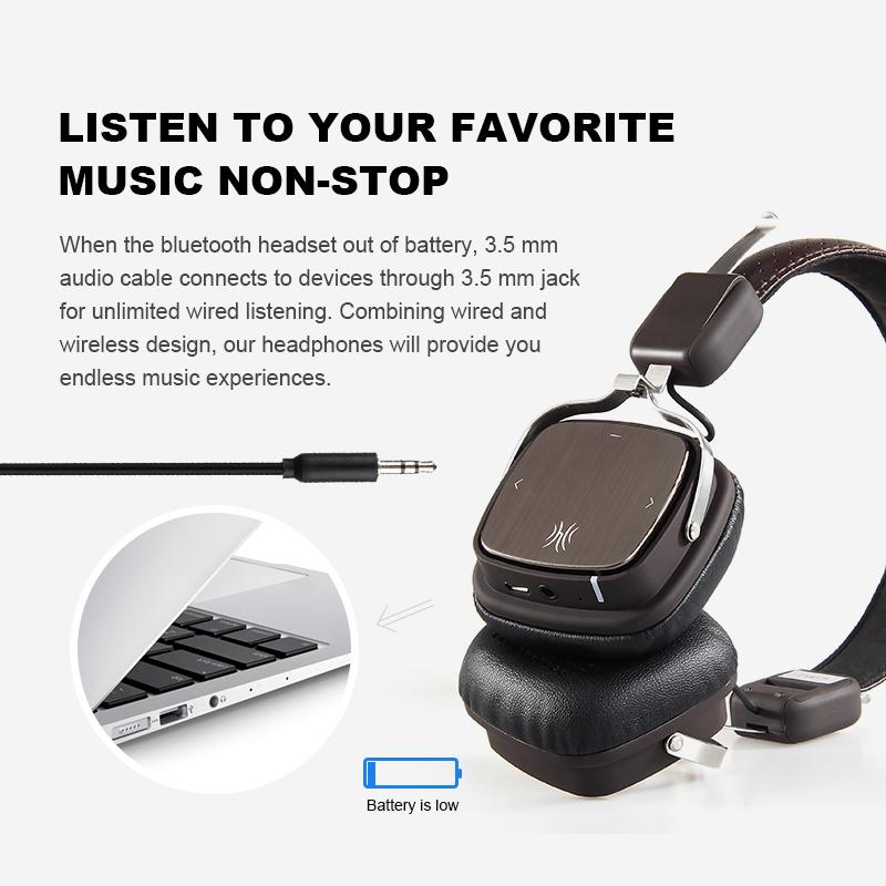 Oneodio Bluetooth Headphones6