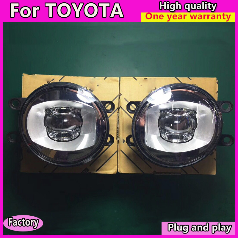 KOWELL Car Styling Original Fog Lamp for Valeo for HIGHLANDERE PRIUS YARIS ALLION PREMIO/MODELLISTA  For Valeo LED Fog Light KOWELL Car Styling Original Fog Lamp for Valeo for HIGHLANDERE PRIUS YARIS ALLION PREMIO/MODELLISTA  For Valeo LED Fog Light