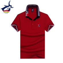 Summer fashion mens polo shirt brand Tace & Shark polo men top quality cotton chemise polo European style business polo shirt
