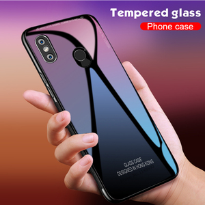 Luxury Tempered Glass Case For Xiaomi Redmi 6 Pro 6A 5 Plus 5A 4A 4X Note 6 5 Pro 5A Prime S2 Cases Ultra Thin Back Glass Cover