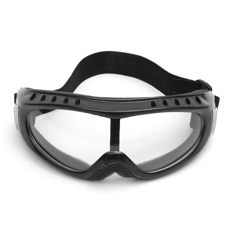 Transparent Safety Goggles Motorcycle Cycling Eye Protection Glasses Tactical Wind Dust Goggles Eye Mask