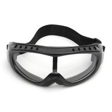 Transparent Safety Goggles Motorcycle Cycling Eye Protection Glasses Tactical Wind Dust mask