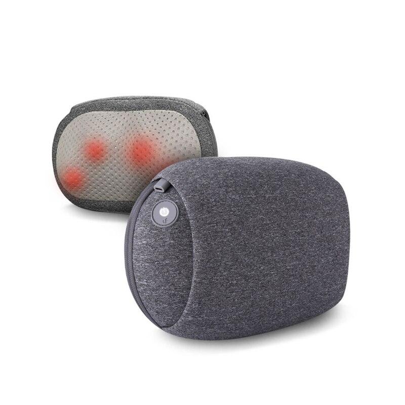 Original Le masseur cervical de ventilateur maison sans fil pincement massage sans fil PTC compresse chaude forte relaxation de couple sans restriction - 2