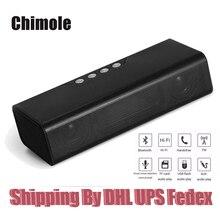 10 шт. chimole Портативный Беспроводной bluetooth Hi-Fi Динамик для карты памяти FM Радио MP3-плееры USB AUX с Запасные Аккумуляторы для телефонов 4000 мАч