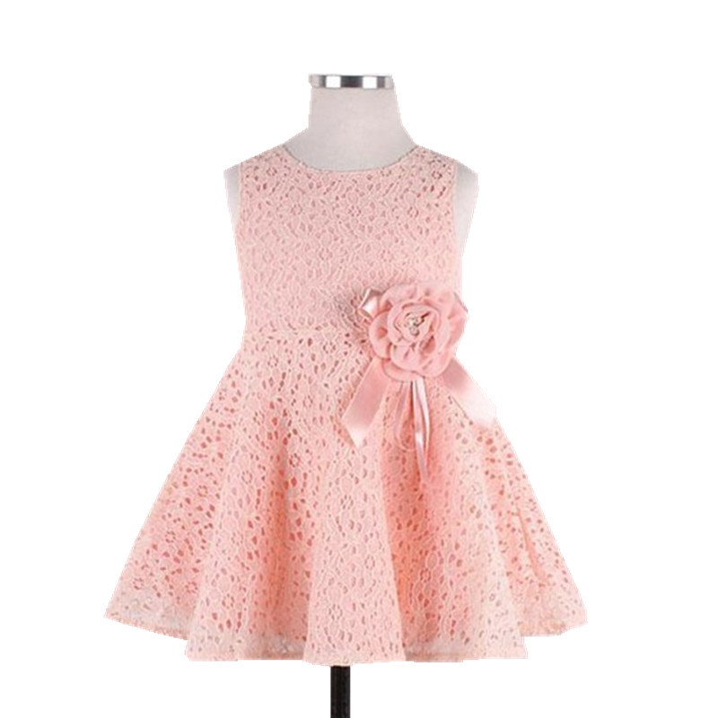 Summer Cotton Baby Girl Dress 2017 Newborn Baby Clothes Hot Sale Children Clothes Roupas Bebe Lovely Ball Gown Kids Clothes