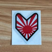 JDM Novice sunrise style Car sticker scratch HellaFlush reflective stickers for honda toyota Mitsubishi nissan accessories