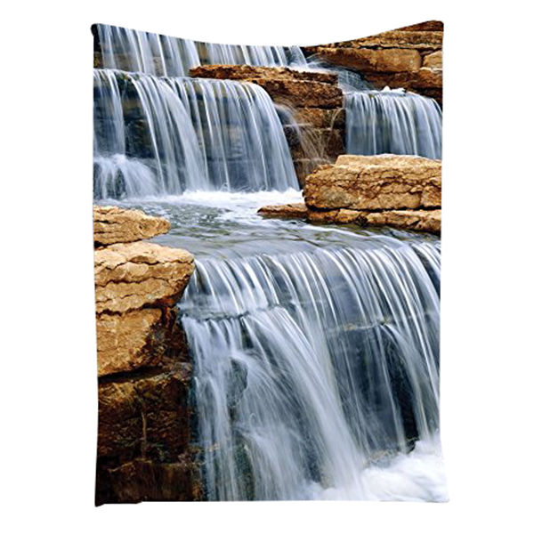 Waterfall Decor Collection Cascading Waterfall Over